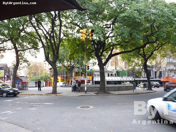 Cortazar square, also Serrano sq