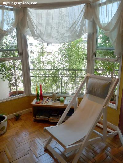 Living Room - bow window