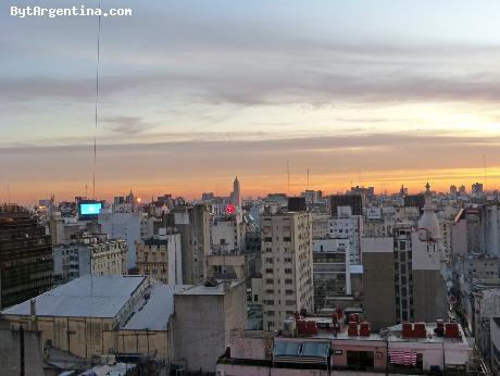 Window View, sunset